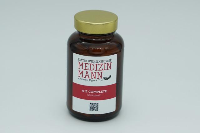 Nahrungsergänzung Medizinmann A-Z Complete