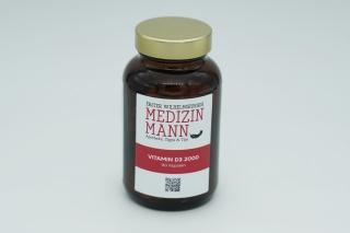 Nahrungsergänzungsmittel Vitamin D3 2000